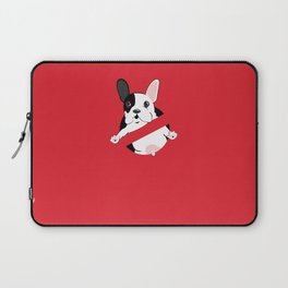Lil Stam Busters French Bulldog Laptop Sleeve