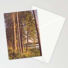 Retro Forest Stationery Cards