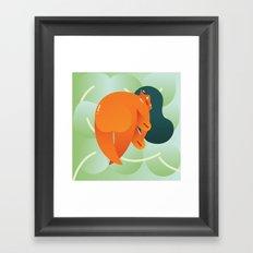 Mango Bajito Framed Art Print