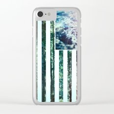USA Wilderness Clear iPhone Case
