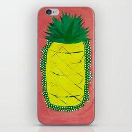 Pineapple of Liberty iPhone Skin