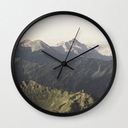 Wild Hearts - Landscape Photography Wall Clock