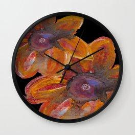Fall Beauty Wall Clock