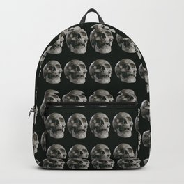 Skull pattern, gothic Backpack