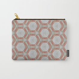 Kaleidoscope Do Not Gob Anywhere Sign Carry-All Pouch