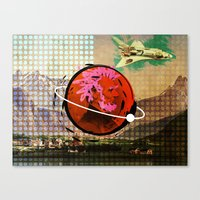 science Canvas Prints featuring Science by Trey Crim