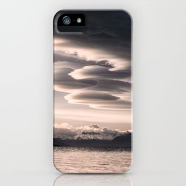 Lenticular Clouds iPhone Case