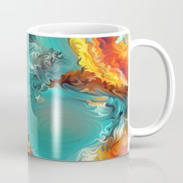 Mineral Series - Rosasite Coffee Mug