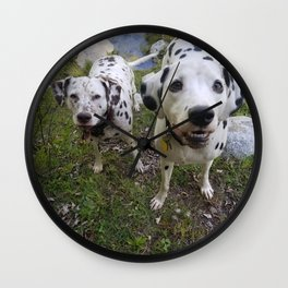 Creek Diggers Wall Clock
