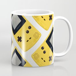 Gameboy Color: Yellow (Pattern) Coffee Mug