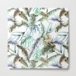 Fantasy tropical banana trees Metal Print