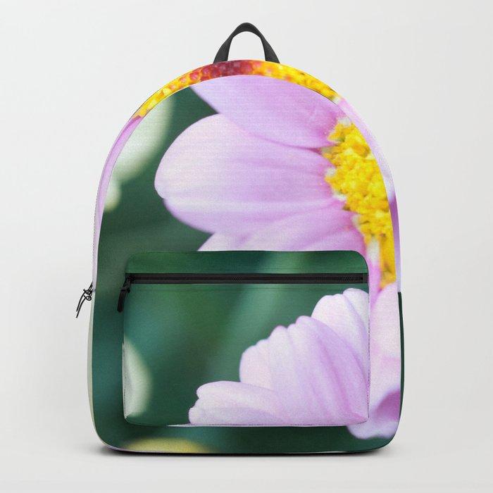Soft Pink Marguerite Daisy Flower #1 #decor #art #society6 Backpack