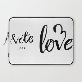 Vote for Love Laptop Sleeve