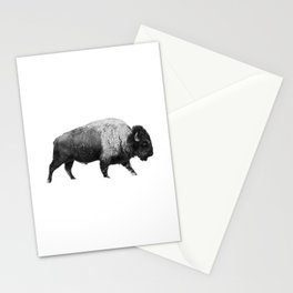 Bison, Buffalo Stationery Cards
