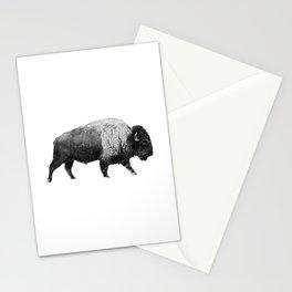 Bison, Buffalo Stationery Cards