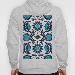 Floral Fabric Vintage Gift Pattern #6 Hoody