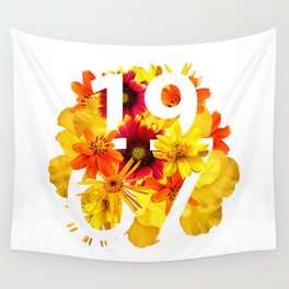 Flower 1967 Wall Tapestry