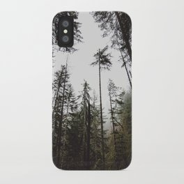Pacific Northwest Forest iPhone Case