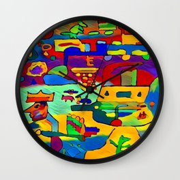 the king's judgment Wall Clock