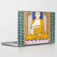 buddha Laptop & iPad Skins featuring Buddha by Panda Cool