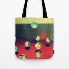 Retro Marbles Tote Bag