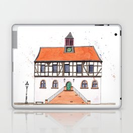 Timber-Framed House from Germany Laptop & iPad Skin