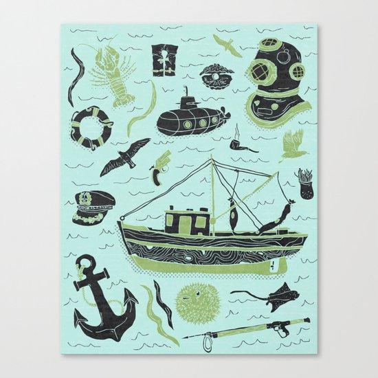 Aquatic Adventures Canvas Print