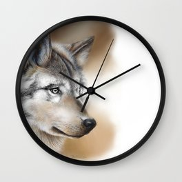 """""""Focus"""" by Claude Thivierge Wall Clock"""