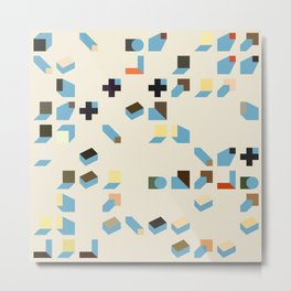 Abstract Geometric Artwork 75 Metal Print