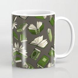 Spellbooks, green Coffee Mug