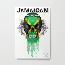 To The Core Collection: Jamaica Metal Print