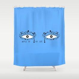 Apple of my eye Shower Curtain