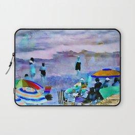 Beach Umbrellas PhotoArt Laptop Sleeve