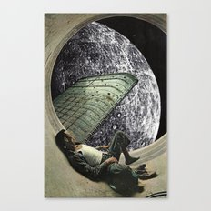 Moon Jock Canvas Print