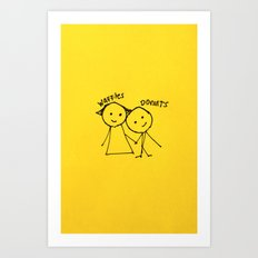 Bestfriends Art Print