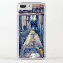Children Playing - Stonetown Zanzibar 3665 Clear iPhone Case