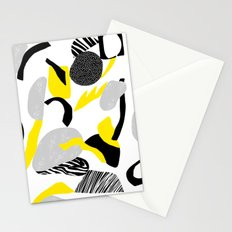 rocks falling  Stationery Cards