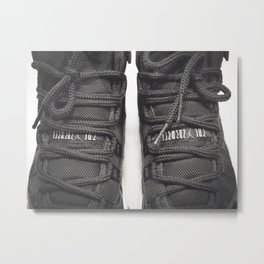 AJ Retro 11 B&W Pt.2 Metal Print