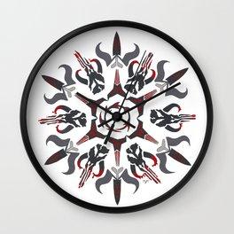 Mando'ade Darasuum (gradient background) Wall Clock