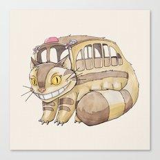 Magical Bus Ride Canvas Print