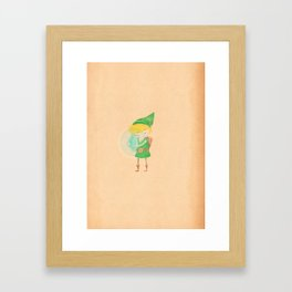 Video game vices.  Framed Art Print