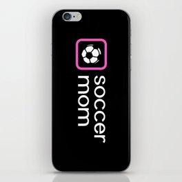 Soccer Mom (Pink) iPhone Skin