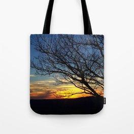 Shenandoah Sunset Tote Bag