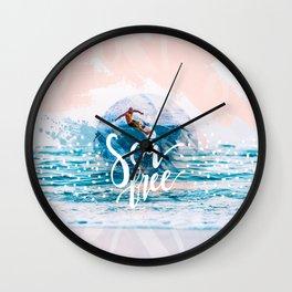 Sea Free Wall Clock