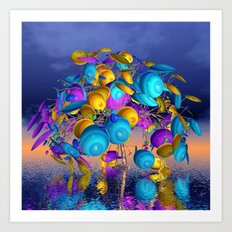 fancy tree -10- Art Print