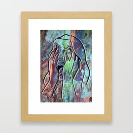 How Are you Feeling Today pt.1 Framed Art Print