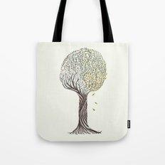 season tree Tote Bag