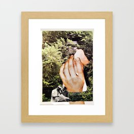 Map of the Forest   Framed Art Print