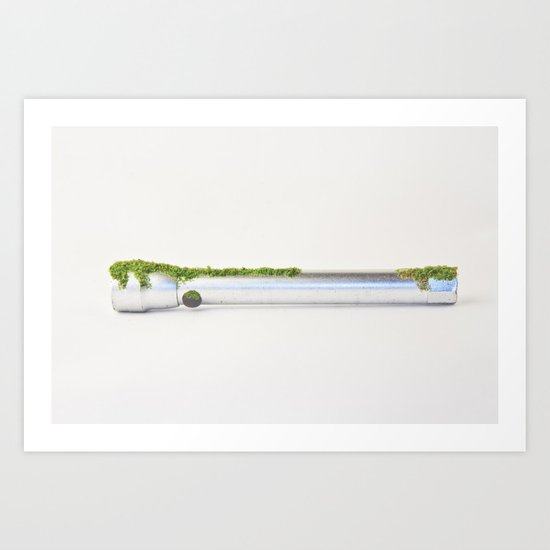 after We've Gone. Torch Uno Art Print