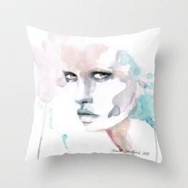 Not Sorry Throw Pillow